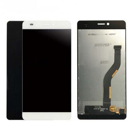 Pantalla LCD para Sensor digitalizador de pantalla táctil BQ BQS 5070 con reemplazo de montaje completo de pantalla LCD