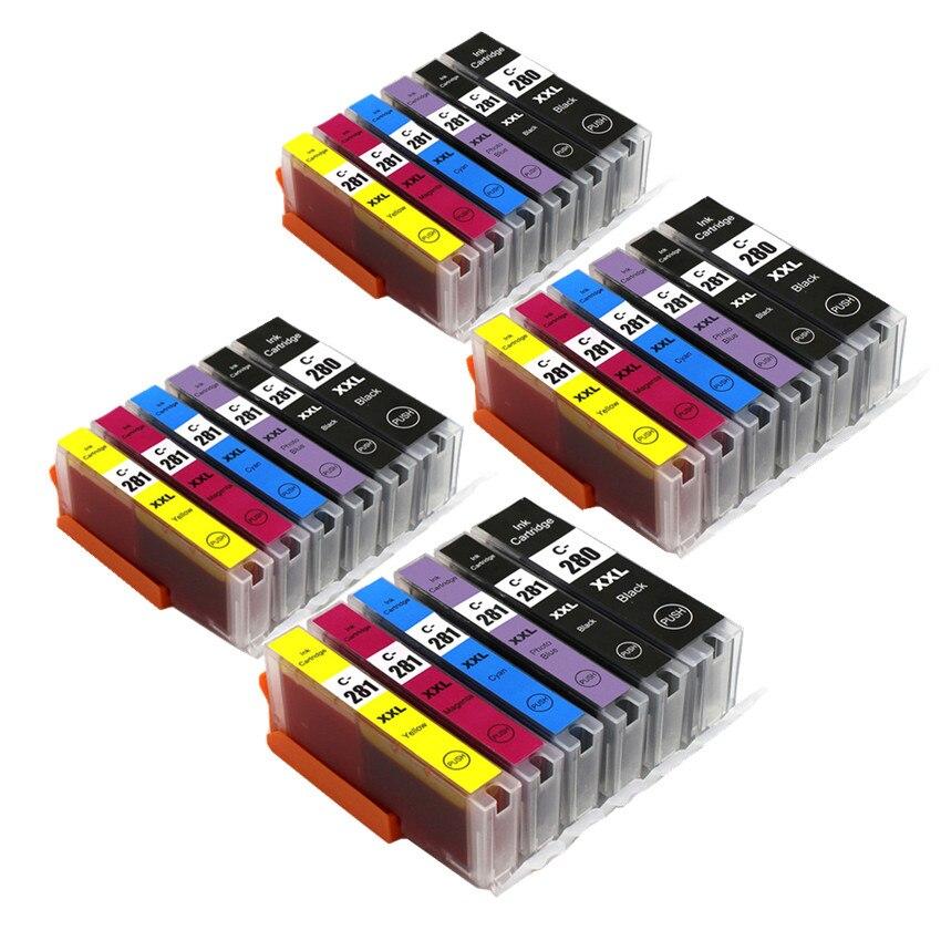 BLOOM kompatybilny z PGI-480 PGI480 CLI481 480 481 XL tusz kartridż do Canona PIXMA TR7540 TR8540 TS6140 TS9140 TS8140 drukarki