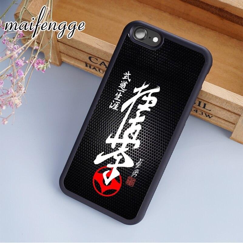 Maifengge Oyama historia del Karate para niños Kyokushin grados casos del teléfono cubierta para iPhone 11 Pro X XR XS MAX 5 5 5 6 6 7 8 Plus samsung s7 s8 s9 s10