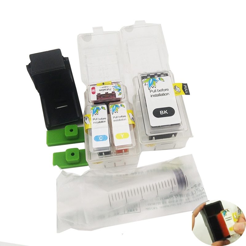 Einkshop PG 40 inteligente cartucho kit de recarga para Canon PG-40 CL-41 PG40 CL41 cartucho de tinta Pixma MP160 MP140 MX300 iP1800 iP1200