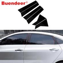 Buender-poteau de Piano pour Honda Civic EX EX-L, 10e génération, Touring Si berline Type R, 2016 à 2019, noir