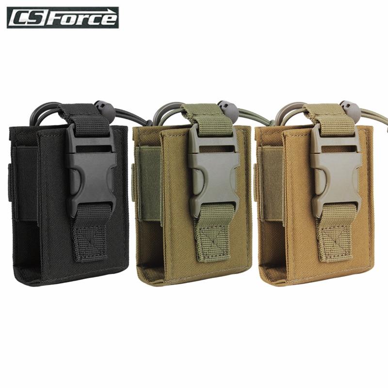 Тактический чехол для рации Molle, сумка для хранения, уличный чехол для радиостанции Molle для военного использования, чехол для рации
