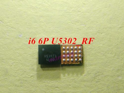 10 unids/lote para iPhone 6 6 Plus AS3923 U5302_RF 20 pines LCD repetidor con pantalla IC chip