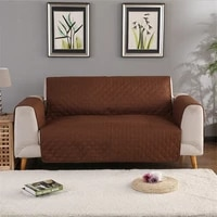 double sided sofa couch cover chair throw pet dog kids mat furniture protector reversible washable removable armrest slipcovers