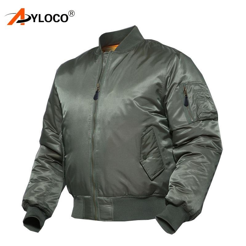 Outdoor Camping Jacket Military Thicken Flight Tactical Bomber Jacket Men Winter Warm Hiking Motorcycle Windbreaker
