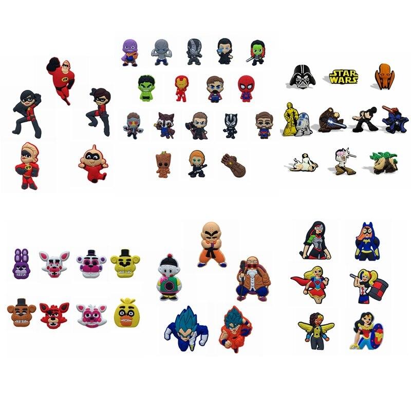 100 pcs/set Avengers Star War Dragon Ball Die Incredibles Magnet Aufkleber Magnetische Kühlschrank Magnet Aufkleber Tafel Aufkleber Geschenk