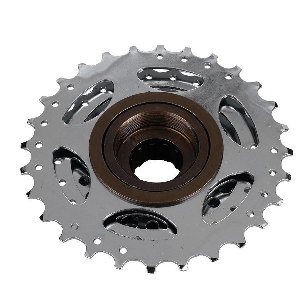 MTB Mountain Bike Bicycle Cycling 7 Speed Flywheel 13-28T Crankset Rear Wheel