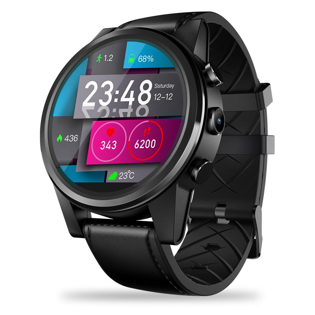 Review 4G Smart Watch 1.6 Crystal Display GPS/GLONASS Quad Core 16GB 600mAh Hybrid Leather Straps Smart Watch 2 Color