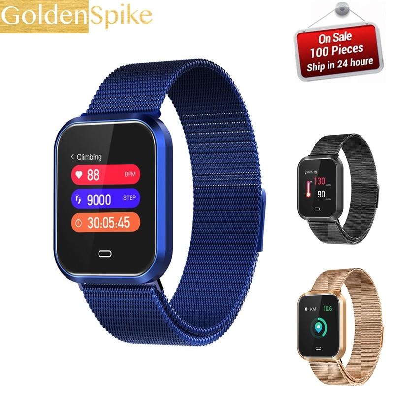 CD16 Smart Watch IP67 waterproof Support Heart Rate Blood Pressure monitor Fitness bracelet Multi Sport Mode Smart Band