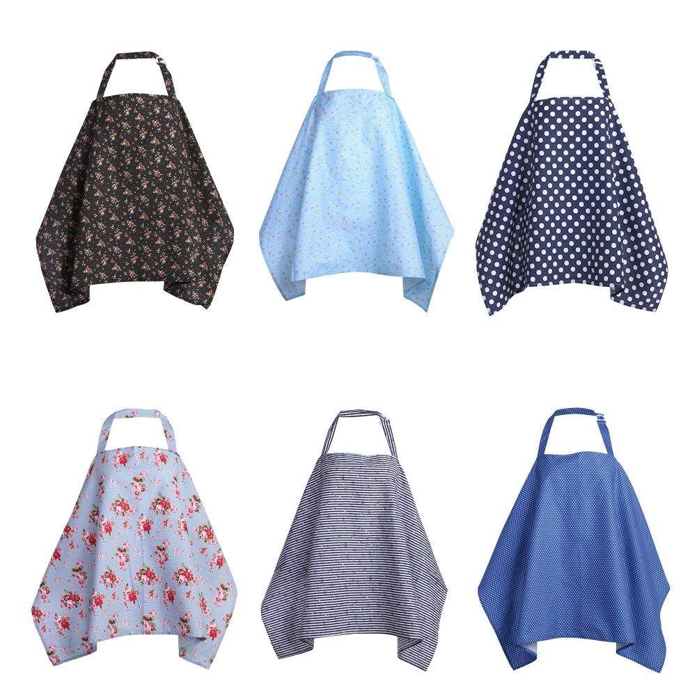 Дышащий хлопковый чехол для грудного вскармливания, верхняя одежда для кормящих матерей, шаль