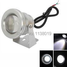 NEW IP68 10W 12V Underwater LED Floodlight Landscape Light Fountain Pond Lamp Bulb White/warm White/RGB Wall Wash Light