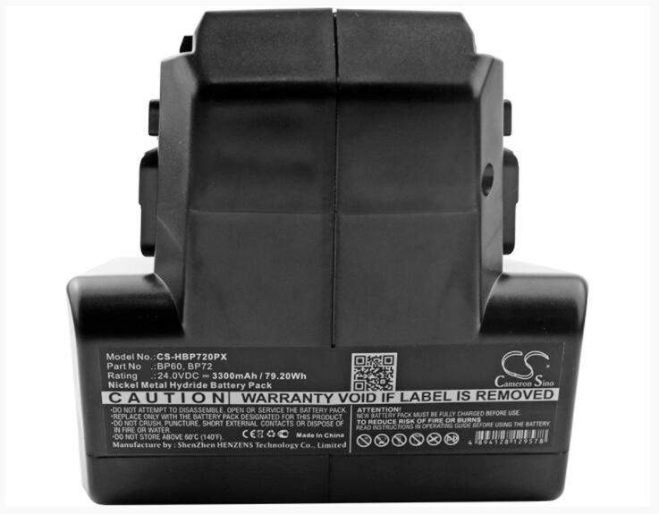 Cameron Sino 3300mAh battery for HILTI C 7/24 C 7/36 TCU 7/36 TE 5 A BP60 BP72 Power Tools Battery
