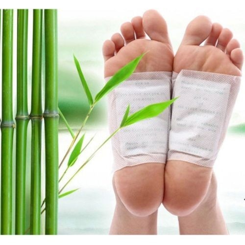 20PCS/lot Kinoki Detox Foot Patch Bamboo Pads Patches With Adhersive Foot Care Tool Improve Sleep sl