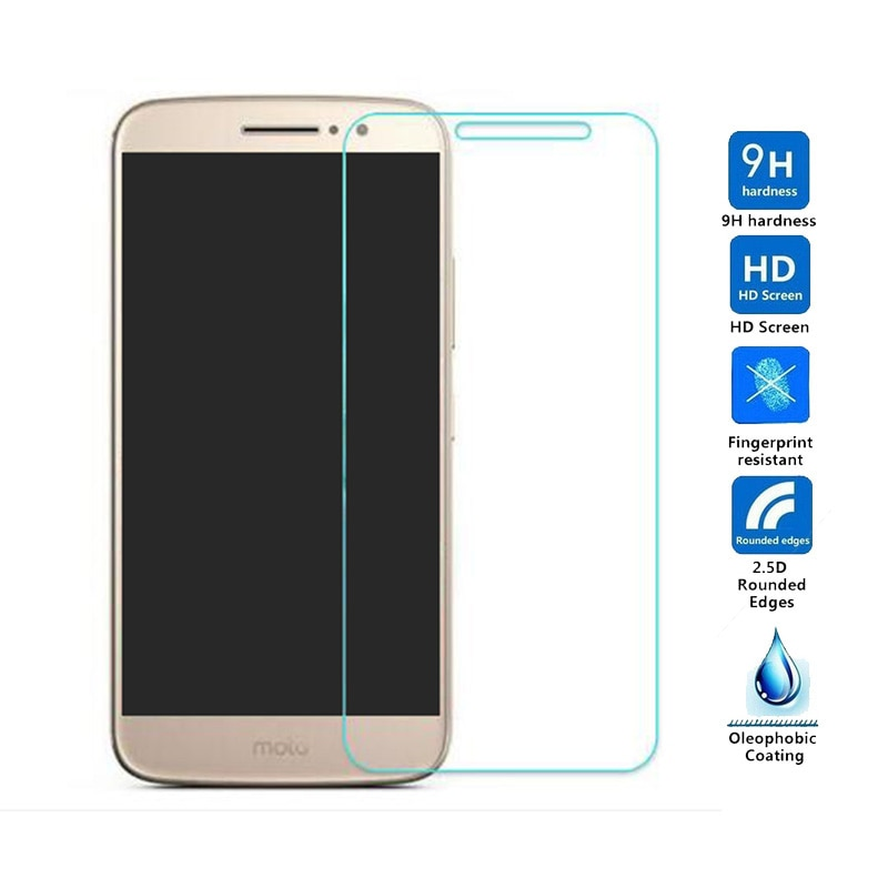 9H Premium Tempered Glass For Motorola Moto M XT1663 Screen Protector protective film For MOTO Z2 G XT1028 C G5 G5PLUS Z2 Play