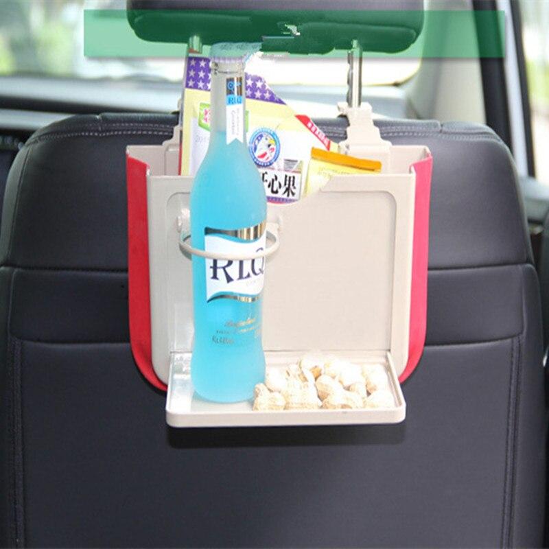 Автомобильный Стайлинг сиденье сзади выдвижной многоцелевой ящик для мусора Audi