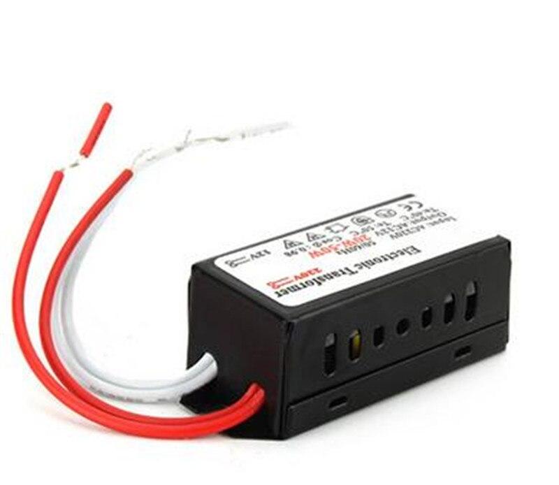 12V 20W-50W G4 halógeno de encendido para lámpara suministro AC adaptador LED controlador interruptor electrónico transformador para lámpara halógena de bajo voltaje