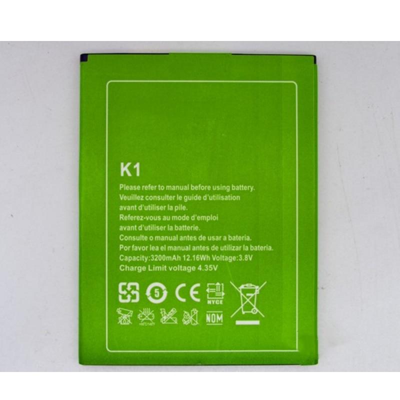 VENTA RÁPIDA Stock limitado batería de repuesto nuevo K1 de 3200mAh para móvil Kingzone de alta calidad