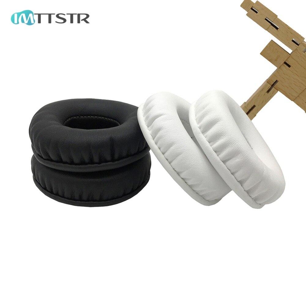 IMTTSTR 1 Par de Copos tampa protectora para as orelhas Da Orelha Almofadas almofadas Almofada de Substituição para Plantronic RIG 500E Som Surround PC Manga
