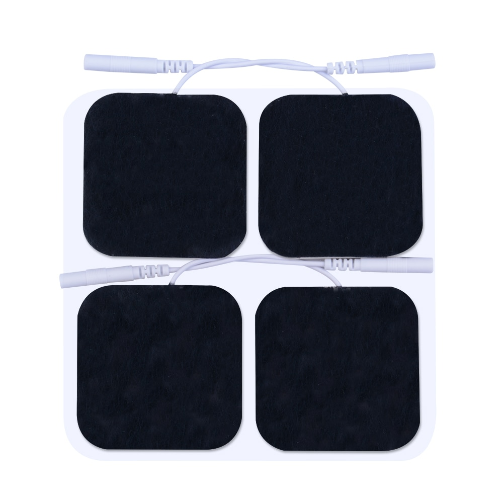 Pelvifine TENS Unit Electrodes Pads 5x5 10Pcs 20pc 50pc Replacement Pads Electrode Patches For Electrotherapy