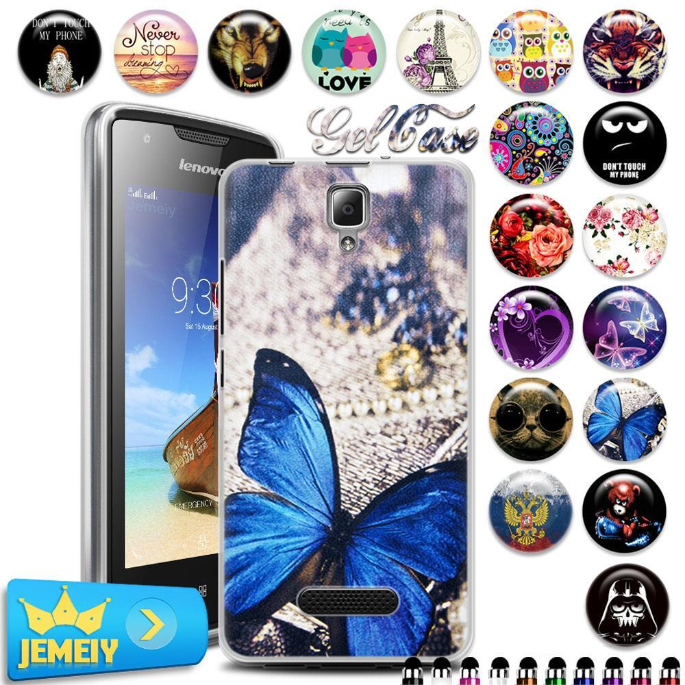 Colorfull miękki gel case pokrywa dla lenovo a1000 a5000 a2010 s60 s90 p1 p70 k3 k4 uwaga/vibe s1 p1m x3 lite moblie telefon hartowane 1