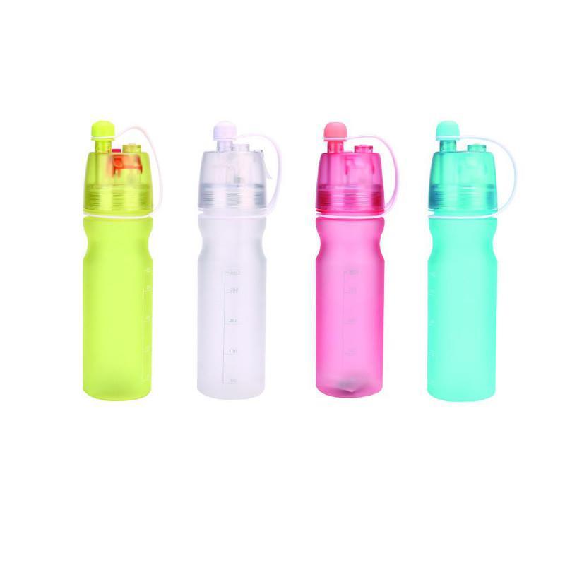 Mikksire Sports Water Bottle Plastic Water Cup Creative Kettle Flagon Spray Cup Bottle Botellas Para Agua Bidon Garrafa K25