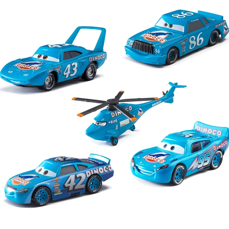 Disney Pixar coches dinosaurio aceite serie Rayo McQueen Jackson tormenta Ramírez 155 Diecast juguetes de metal en miniatura para el regalo de los niños