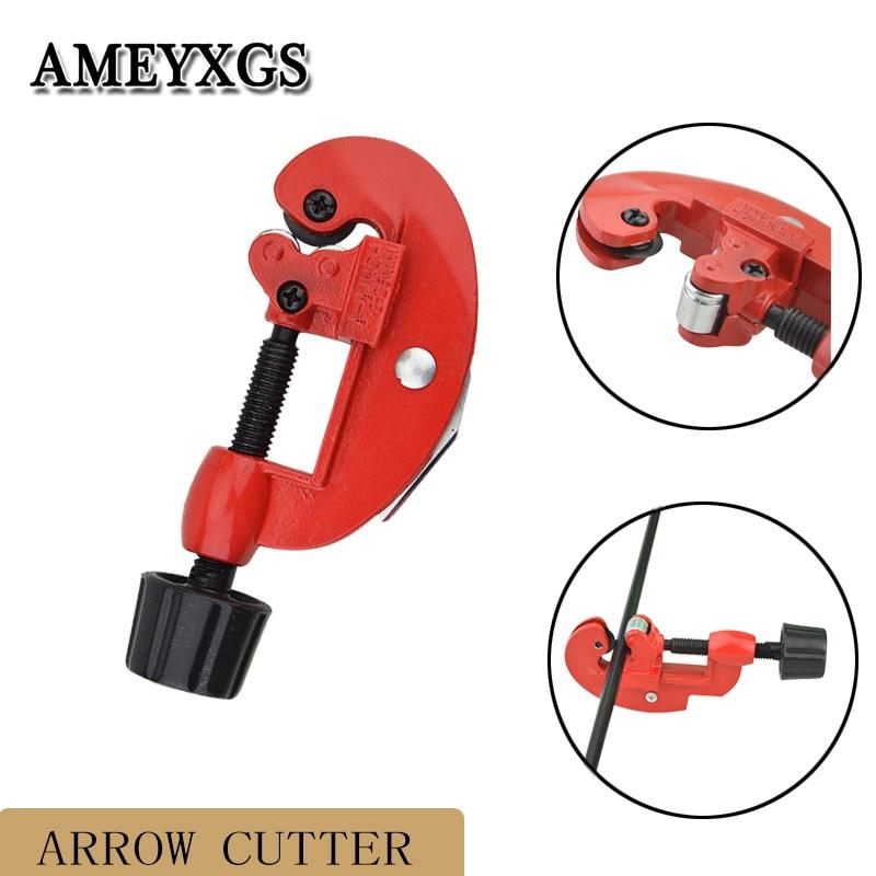 Arrow Shaft Cut Off Saw Trimmer Arrow Cutter 3-28mm Cutting Diameter Arrow Shaft DIY Cutting Tool Archery Aid Accessories