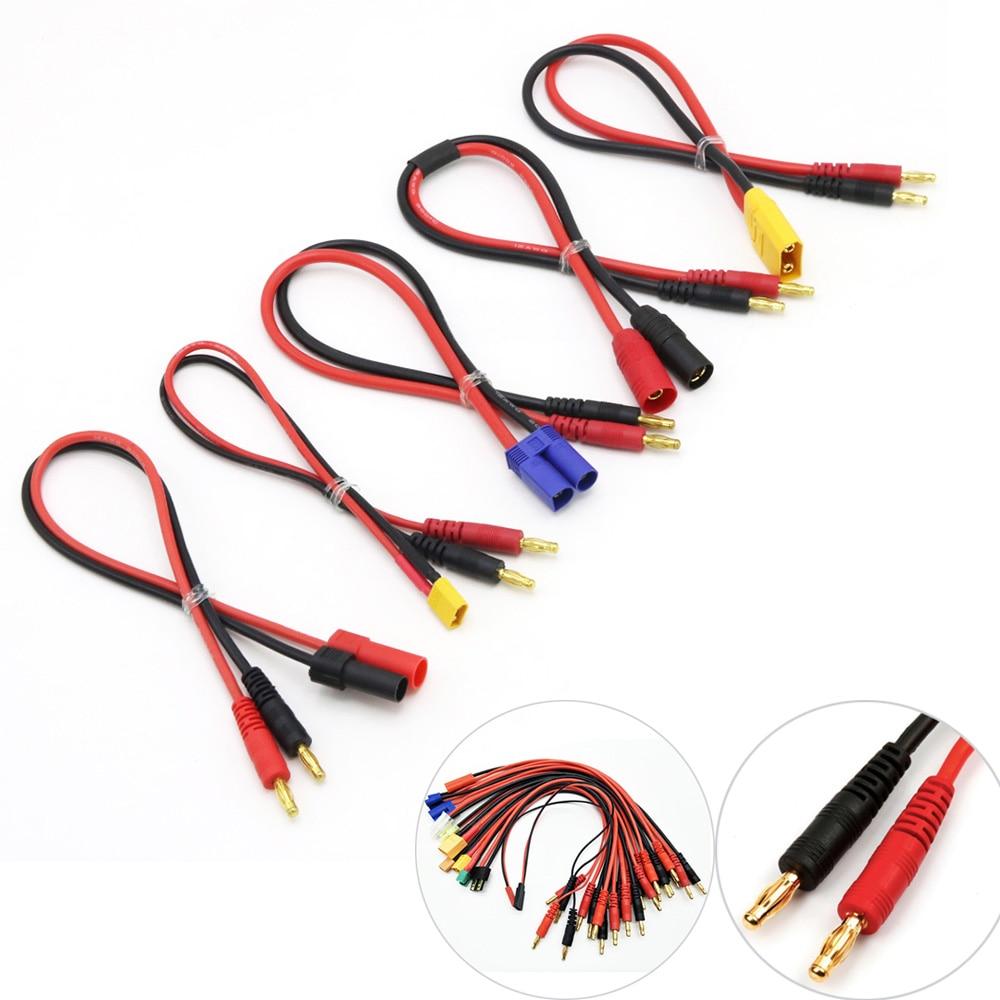 Imax-línea de carga B6, conector Banana a T de 4,0mm, EC3, EC5,...
