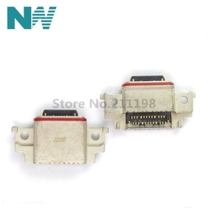 10Pcs/Lot Micro Usb Jack Type-C Mobile Phone Micro Usb Connector Power Interface Charging Port For Samsung A530 A730