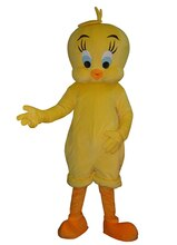 Tweety Looney airs mascotte Costume dessin animé oiseau fantaisie robe adulte pour la fête dhalloween