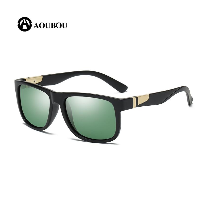 Clássico Quadrado quadro polarizado óculos de sol dos homens gafas los hombres giroskuter borsa donna marca famosa brillen