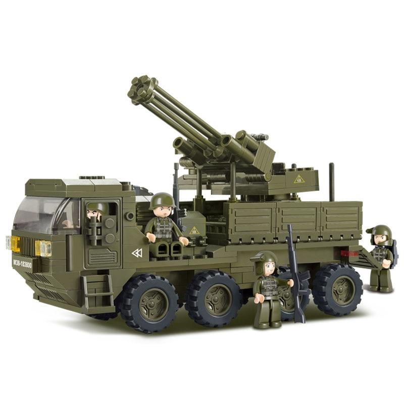 0302 306 Uds. Kit de construcción militar, bloques compatibles con bloques de LEGO, juguetes para niños y niñas, modelado