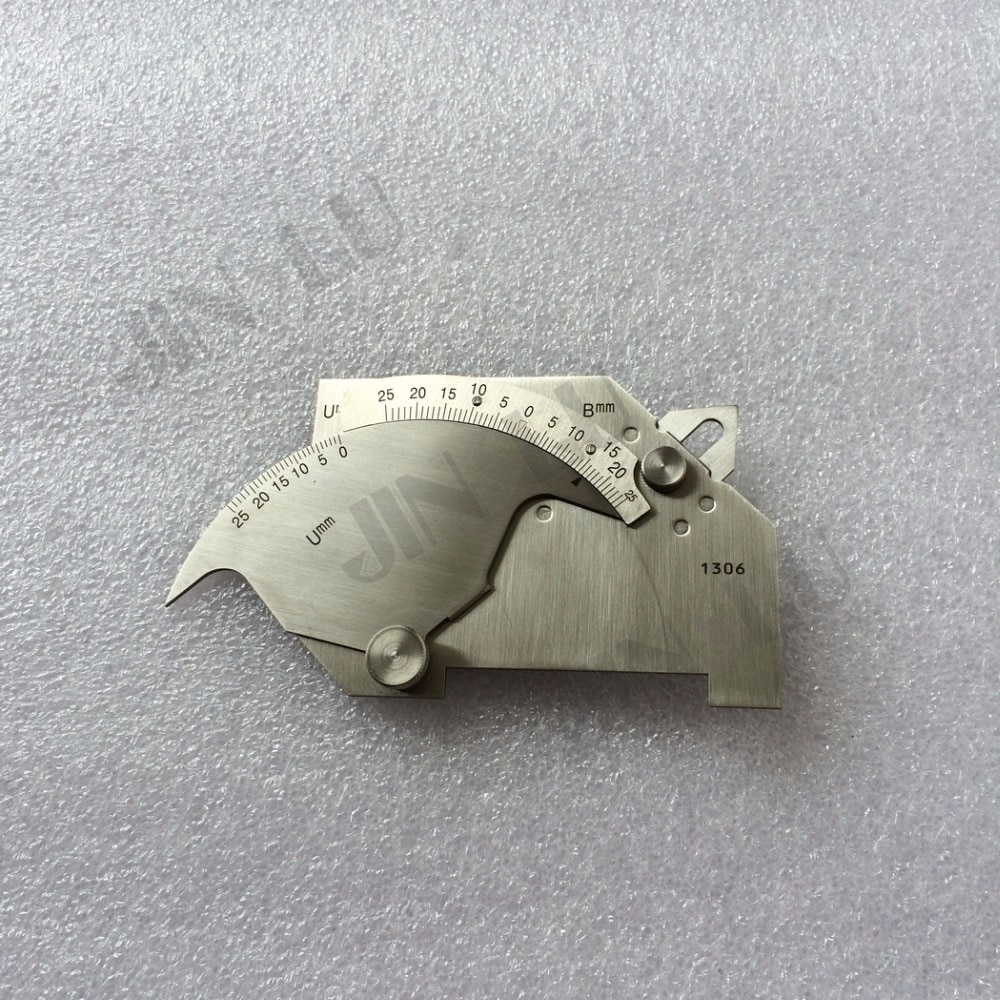 Free Shipping Welding Inspection Tools WGU-7M Welding Angle Regulation Measure Tool