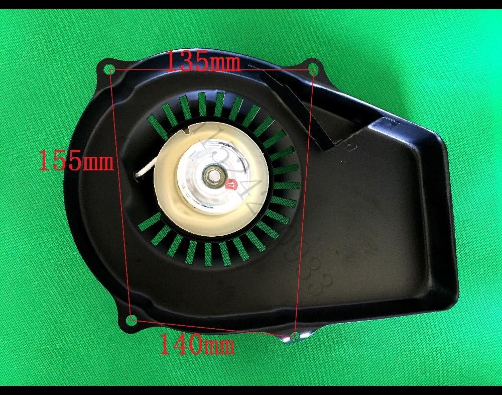 Arranque de retroceso 950 para ET950, piezas del generador de 2 tiempos de buena calidad, Tiger 650W 800w, piezas de repuesto del pequeño generador