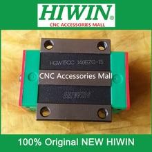 HIWIN-bloc de guidage linéaire HGW15CC   4 pièces Original, compatible avec les rails HGR15