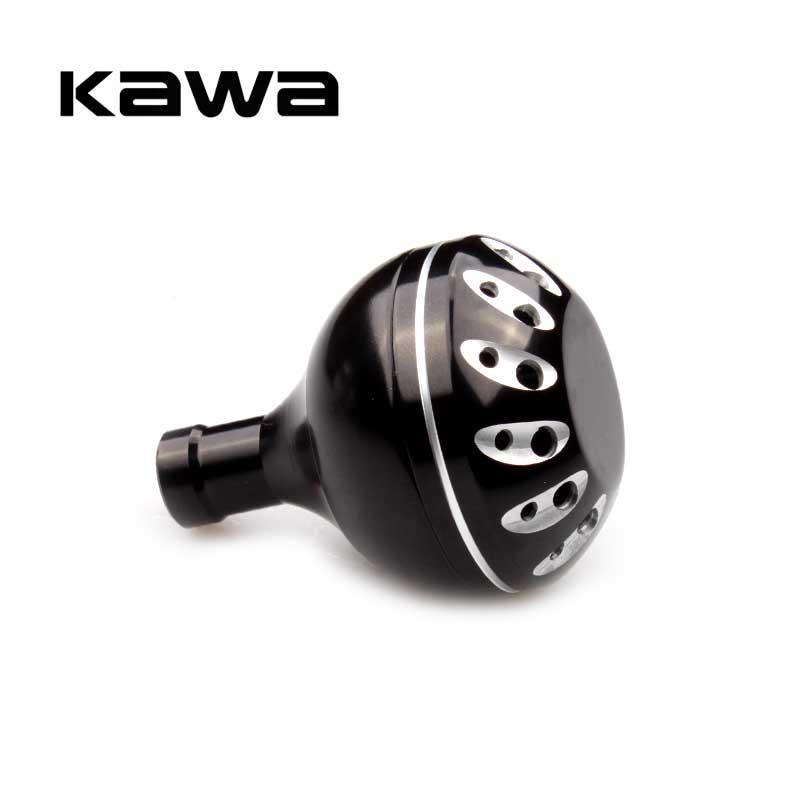 Kawa Fishing Reel Handle Knob Dia 30mm for Spinning Wheel Machined Metal Fishing Rocker Knob For shimano and Daiwa Spinning Reel