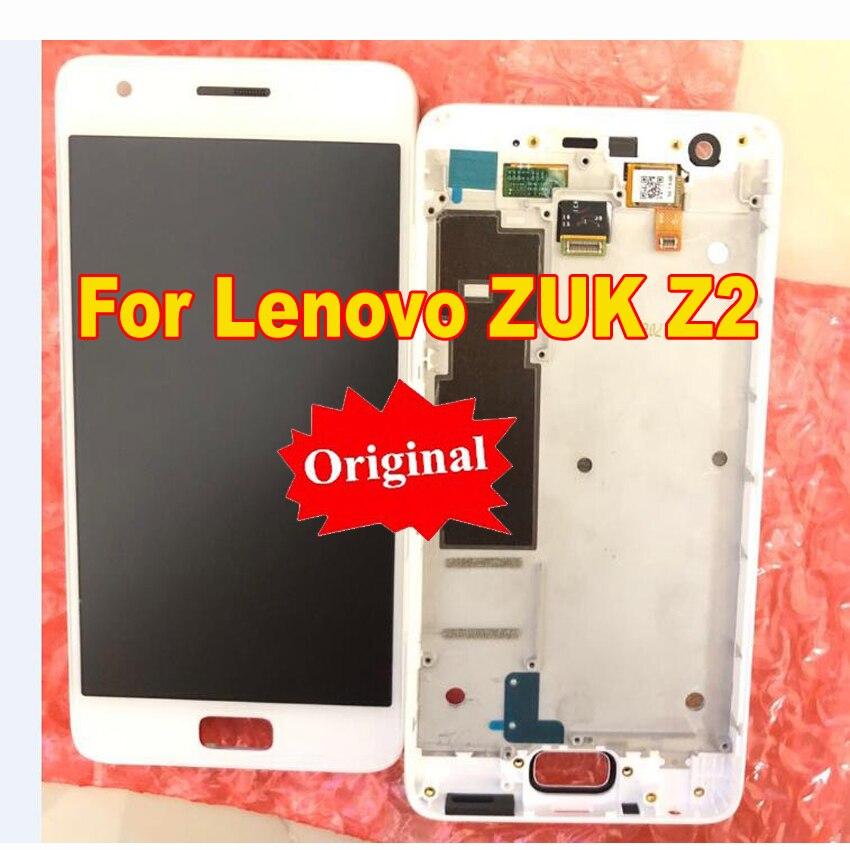 "LTPro pantalla LCD Original Montaje de digitalizador con pantalla táctil con marco para Lenovo ZUK Z2 Z2131 5,0 ""sensor de piezas de repuesto"