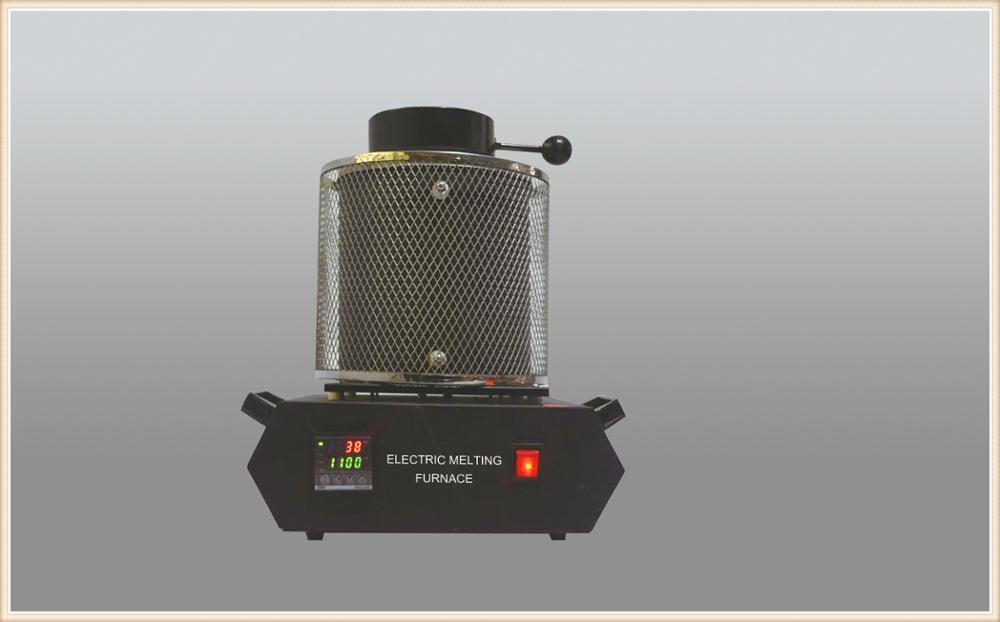Envío Gratis herramientas de joyería DHL 220 V 3 kg equipo de Fundición de Oro horno de fusión de oro con 1 crisol Tong 1