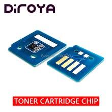 8 stücke 106R01446 106R01443 106R01444 106R01445 Toner Patrone chip Für Xerox Phaser 7500 7500n 7500dn drucker pulver refill reset
