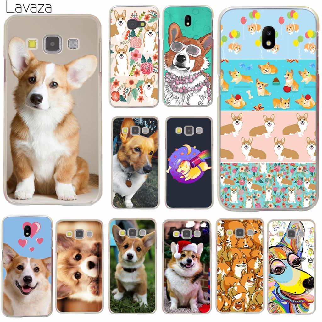 Lavaza lindo Corgi perro teléfono funda para Samsung Galaxy J8 J7 Duo J4 J5 J6 Plus 2018 de 2017 de 2016 J2 J3 primer 2015 cubierta