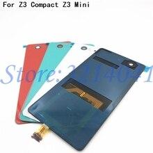 Cam Için Pil Yuvası Kapağı Z3Mini Yedek sony için arka kapak Xperia Z3 Kompakt D5803 D5833 Z3 Mini NFC