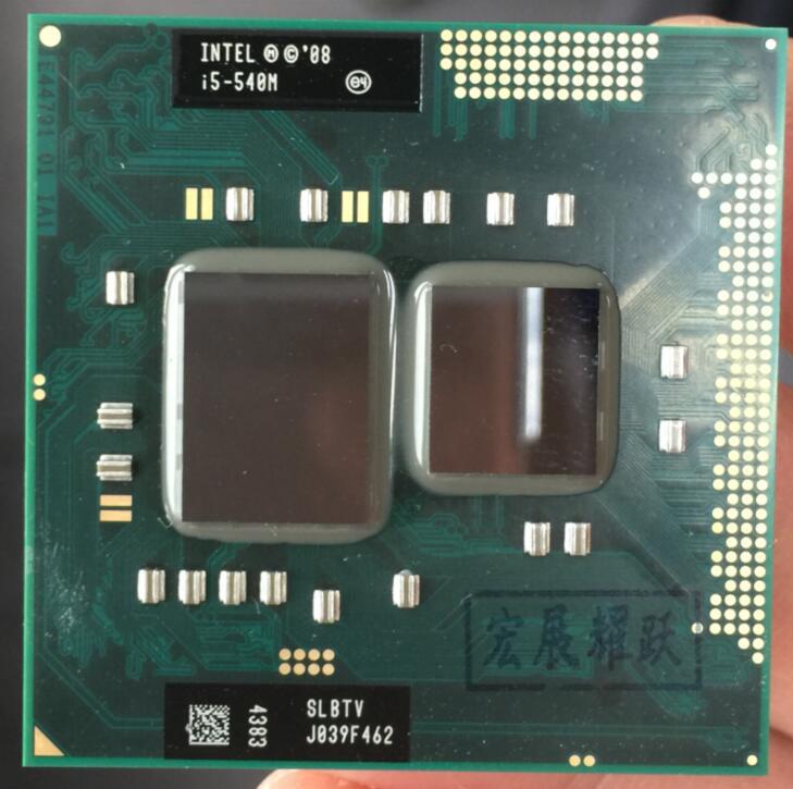 Intel Core i5-540M Prozessor i5 540M notebook Laptop CPU PGA 988 cpu