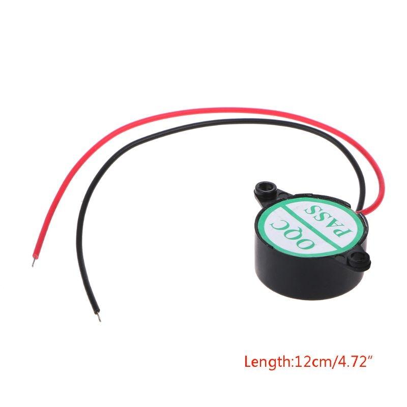 3-24V Electric Buzzer Alarm Loud Speaker Warning Car Security Horn Automobile Siren dorp shipping