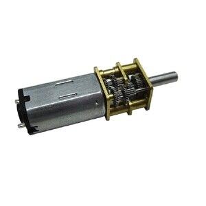 GA-N30 Geared Motor Mini DC Low Speed Geared Motor 3V6V12V Micro Gear Motor 1: 1000