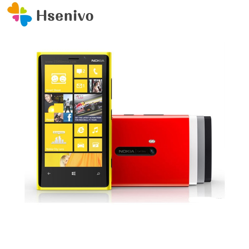 Nokia Lumia 920 reformado-Original Lumia 920, GPS, WiFi, 3G y 4G 32GB...