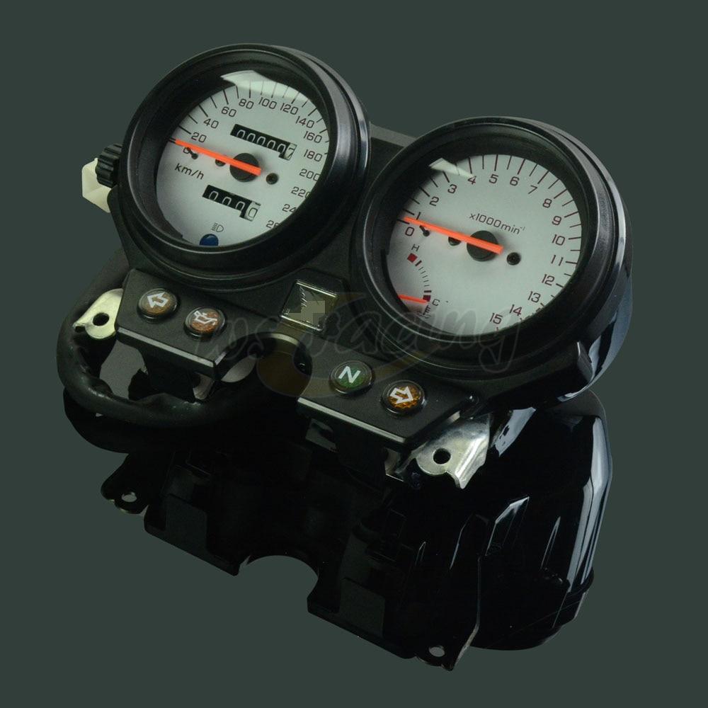 Motocicleta tacómetro odómetro instrumento de panel de instrumentos, de velócimetro medidor para HONDA CB600 Hornet 600 96-02 96 97 98 99 00 01 02
