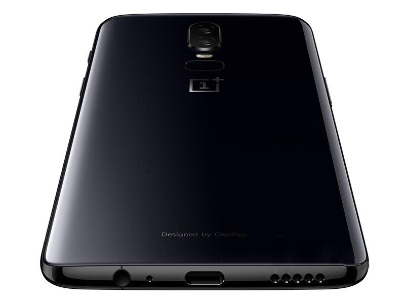 Фото1 - Оригинальный смартфон Oneplus 6, новая версия разблокировки, 4G LTE, экран 6,28 дюйма, 8 ГБ ОЗУ 256 ГБ, на две SIM-карты, 1080x2280 пикселей, мобильный телефон