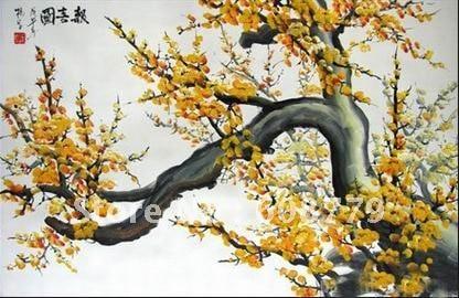 Yellow Flower Design Canvas Art Painting Suppliers  LRGP0335