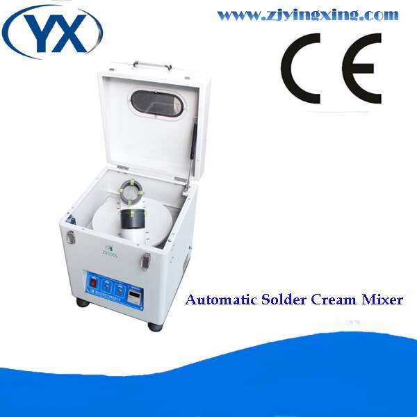 Nouveau mélangeur automatique de pâte à souder crème 500-1000g YX500S machines de mélangeur de crème détain à souder