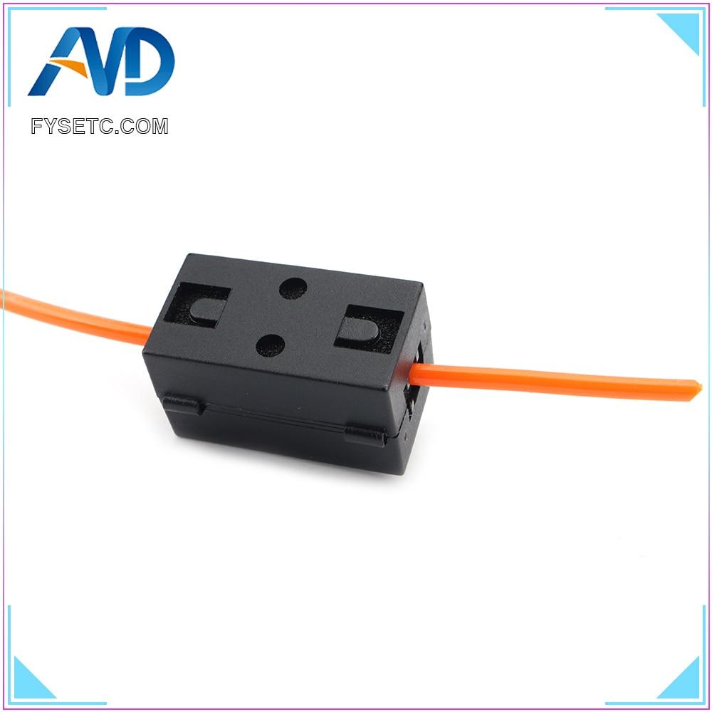 Piezas de impresora 3D, consumibles limpiadores, 1,75/2,85/3,0mm PLA ABS PETG, filamentos de alimentación, eliminación de polvo para PRUSA I3/Anet a8/Ender-3/CR-10